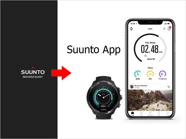 Aplikácia Suunto Movescount končí, začnite s novou Suunto app