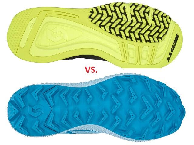 Porovnanie bežeckej obuvi - trailová vs. cestná bežecká obuv