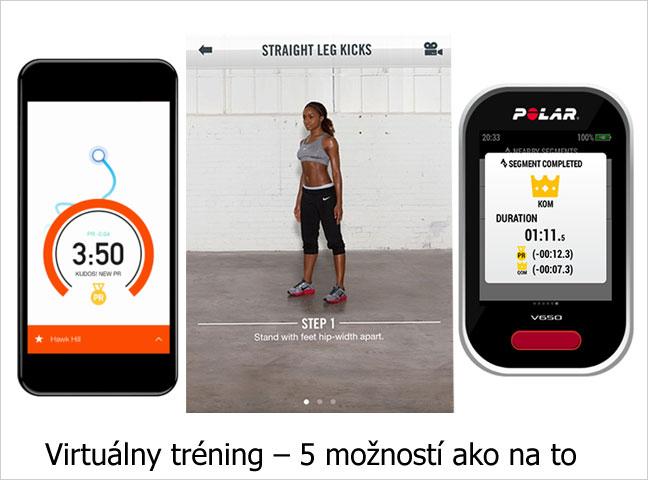 Virtuálny tréning – 5 možností ako na to