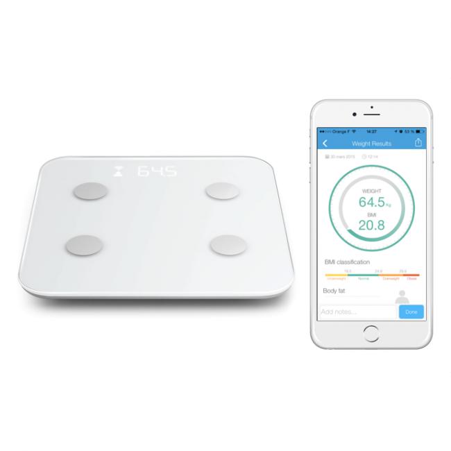 Osobné diagnostické smart váhy a analyzátory