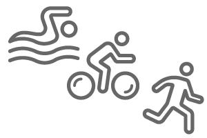 Športové hodinky a výživa - triatlon / multišport