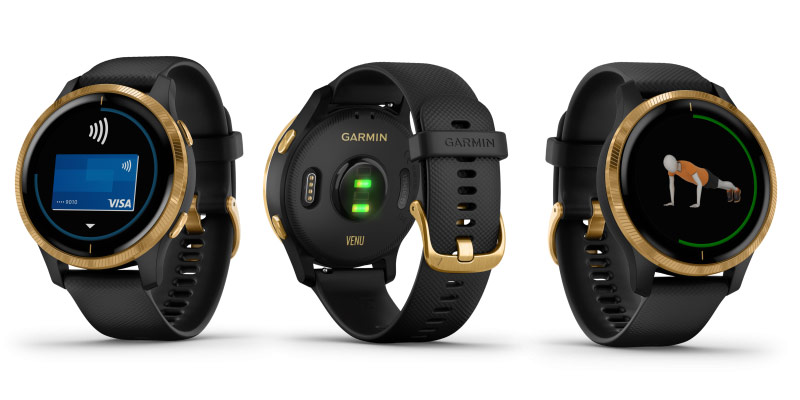 garmin-venu-black-gold