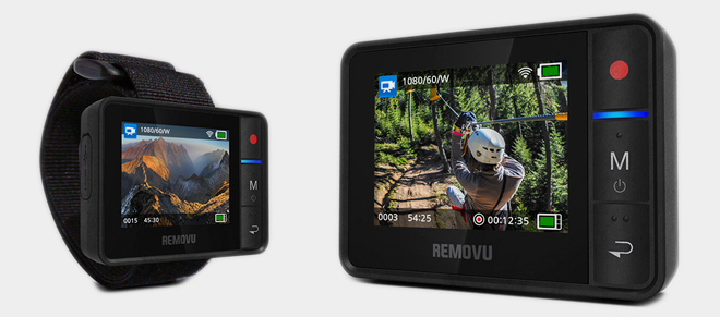 Removu-R1-lcd-wifi-live-view-gopro
