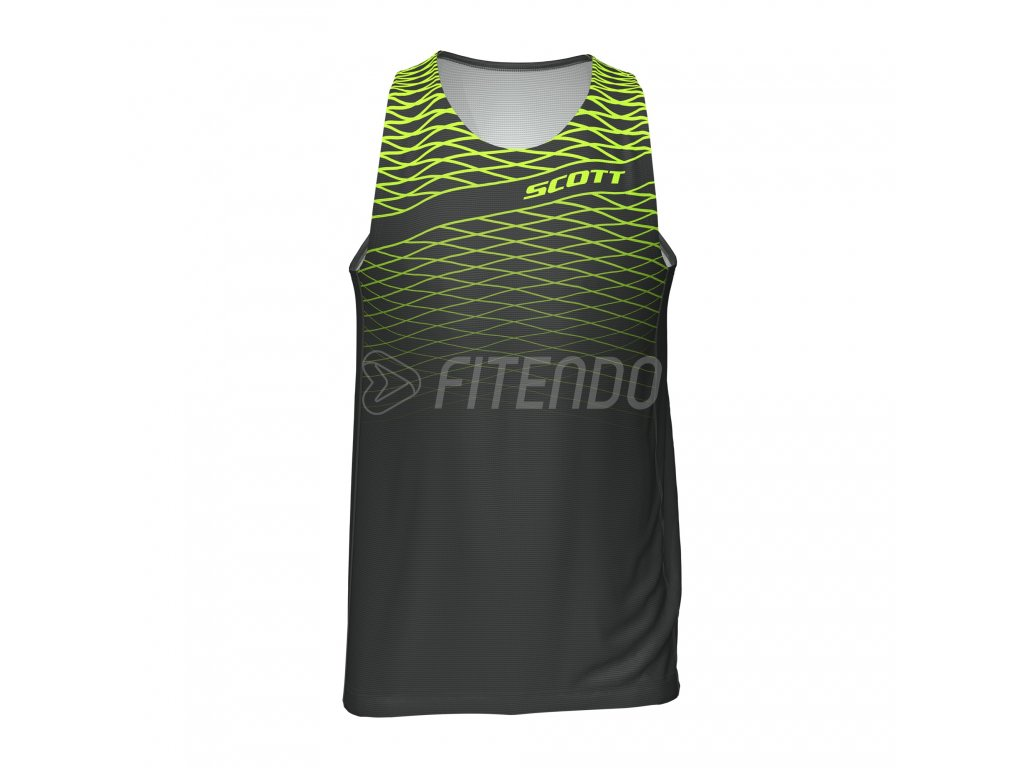 scott rc run tank top panske tielko 01
