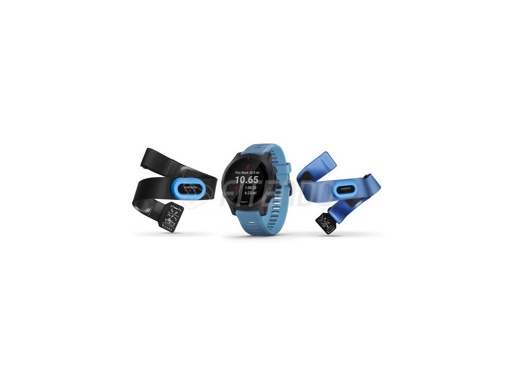 garmin forerunner 945 Blue Slate Tri Bundle 01