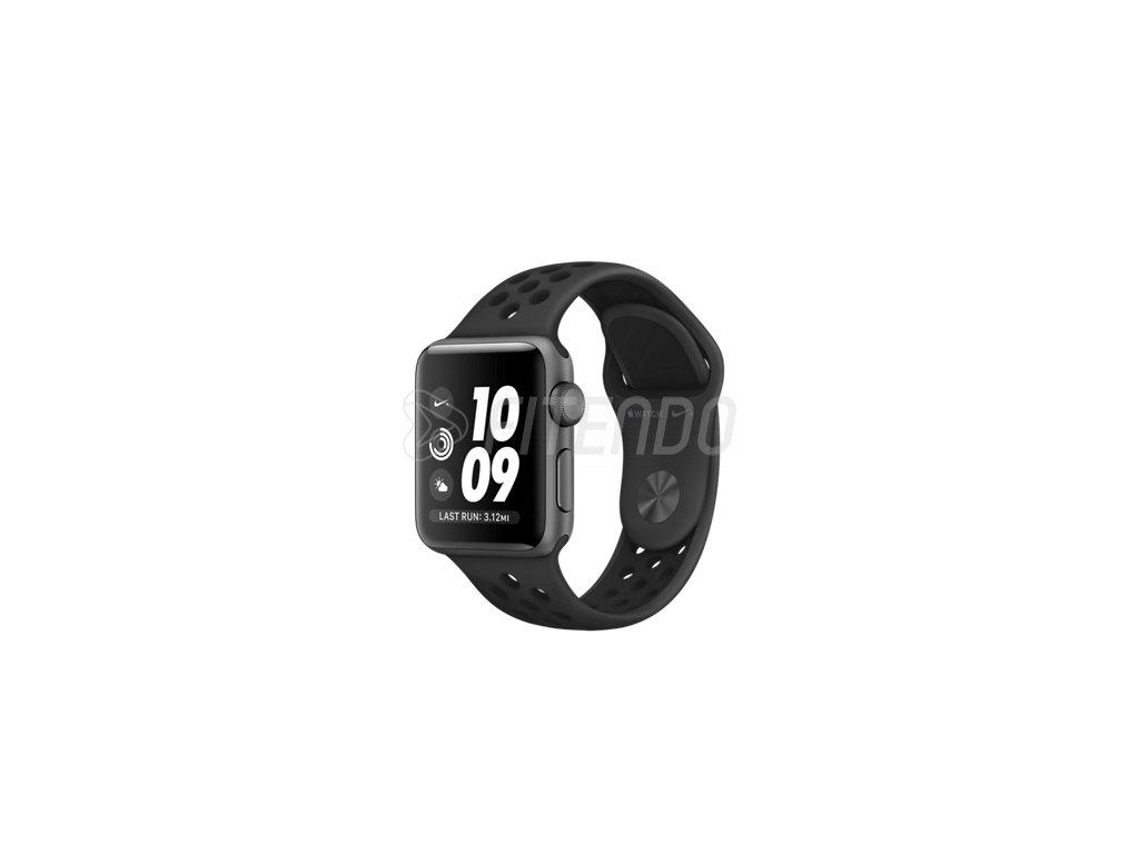 Apple Watch Series 3 Nike 38mm Space Grey Aluminium Atracid sport Nike band