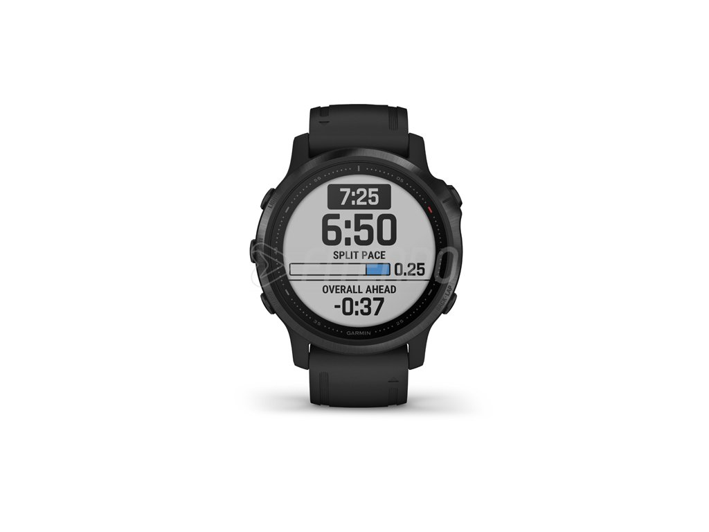 garmin fenix 6s pro black black band 01