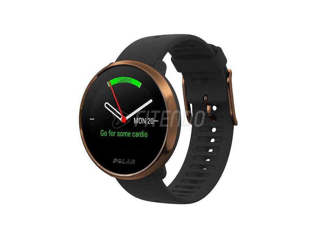 polar ignite black copper 01 watchface s navrhom treningu
