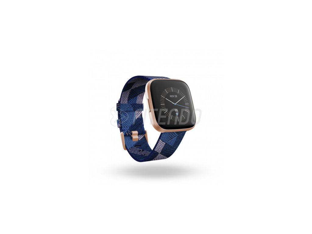 fitbit versa 2 special edition nfc navy pink woven 01