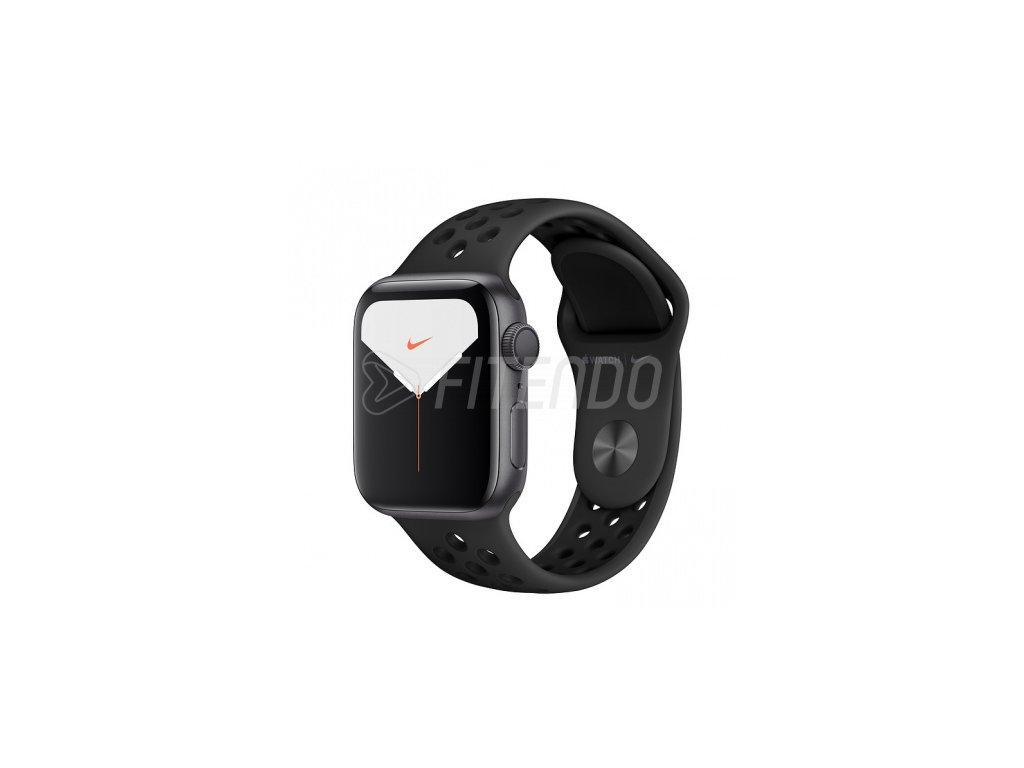 Apple Watch Nike Series 5 40mm Space Grey Aluminium Anthracite Black Nike Sport Band 01