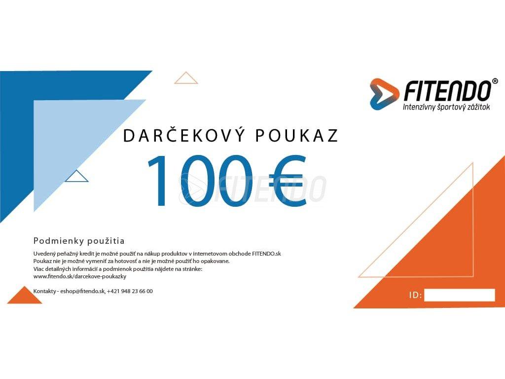 darcekovy poukaz v hodnote 100 eur fitendo sk