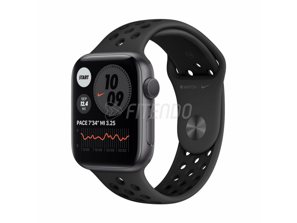 apple watch nike series 6 gps 40mm space gray aluminium 01