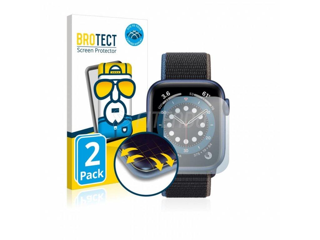 brotect flex full cover ochranna folia apple watch series 6 40 mm 01