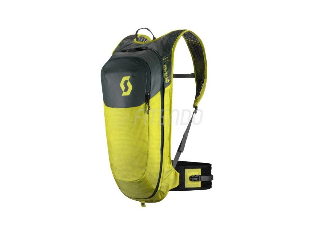 cyklisticky batoh s chranicom chrbtice scott trail protect airflex fr 10 sulfur yellow 01