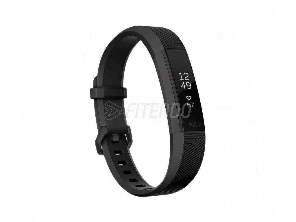 Fitbit Alta HR Black Gunmetal - Small