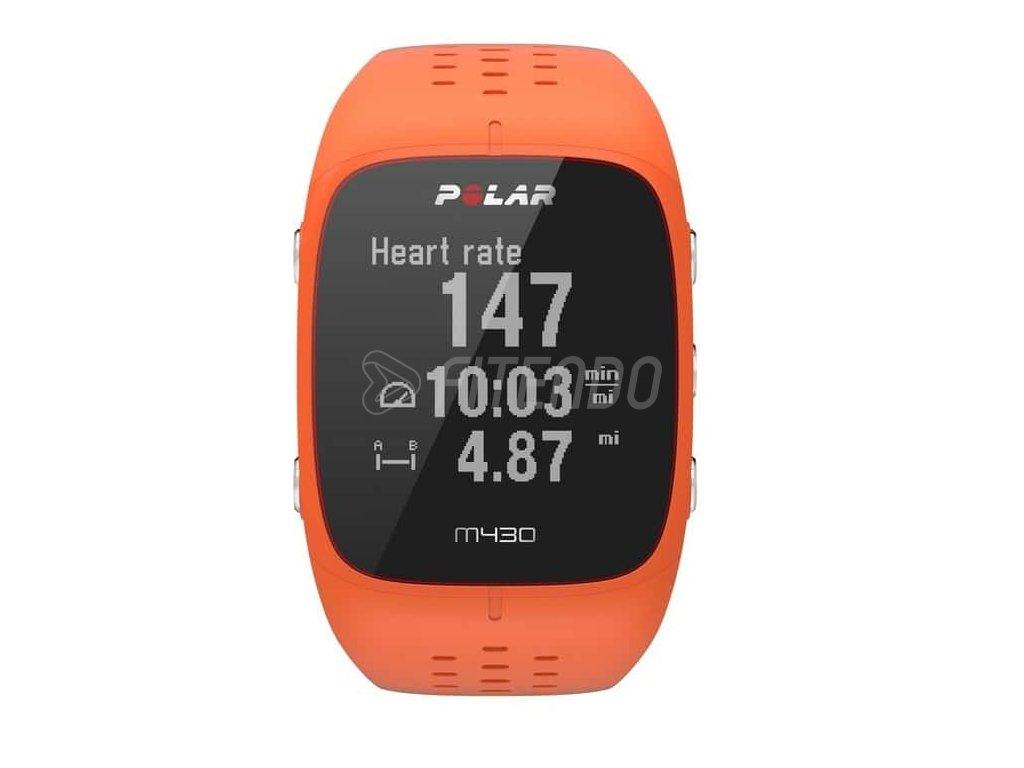 Polar M430 Orange  + Ochranná fólia na displej za 6€ zadarmo!