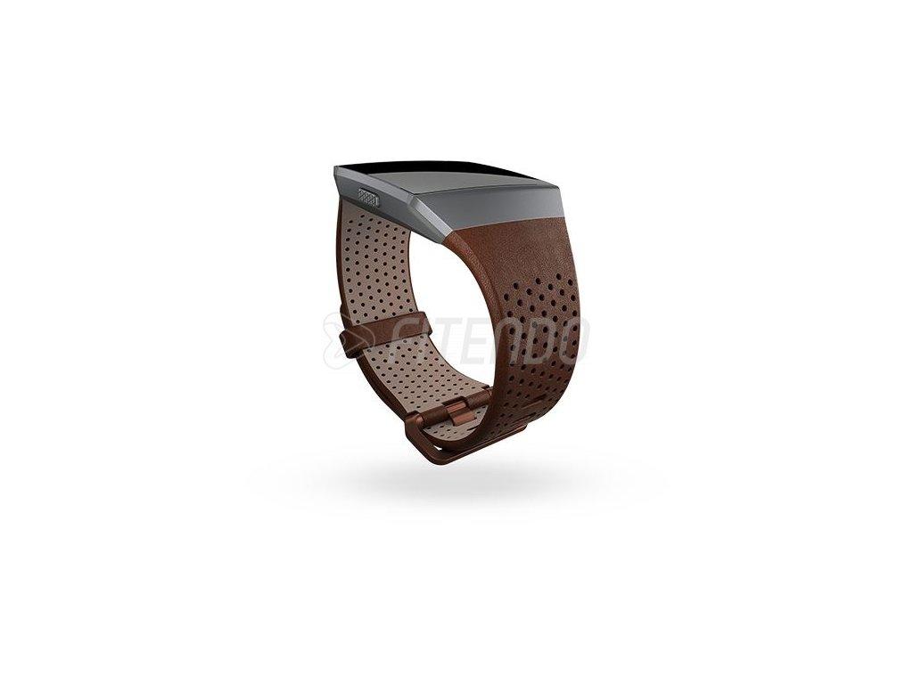 Fitbit Ionic kožený remienok Cognac - S