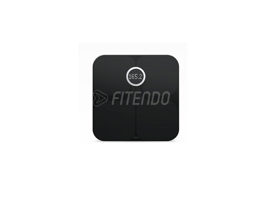 Fitbit Aria 2 Wi-Fi inteligentná váha, Čierna
