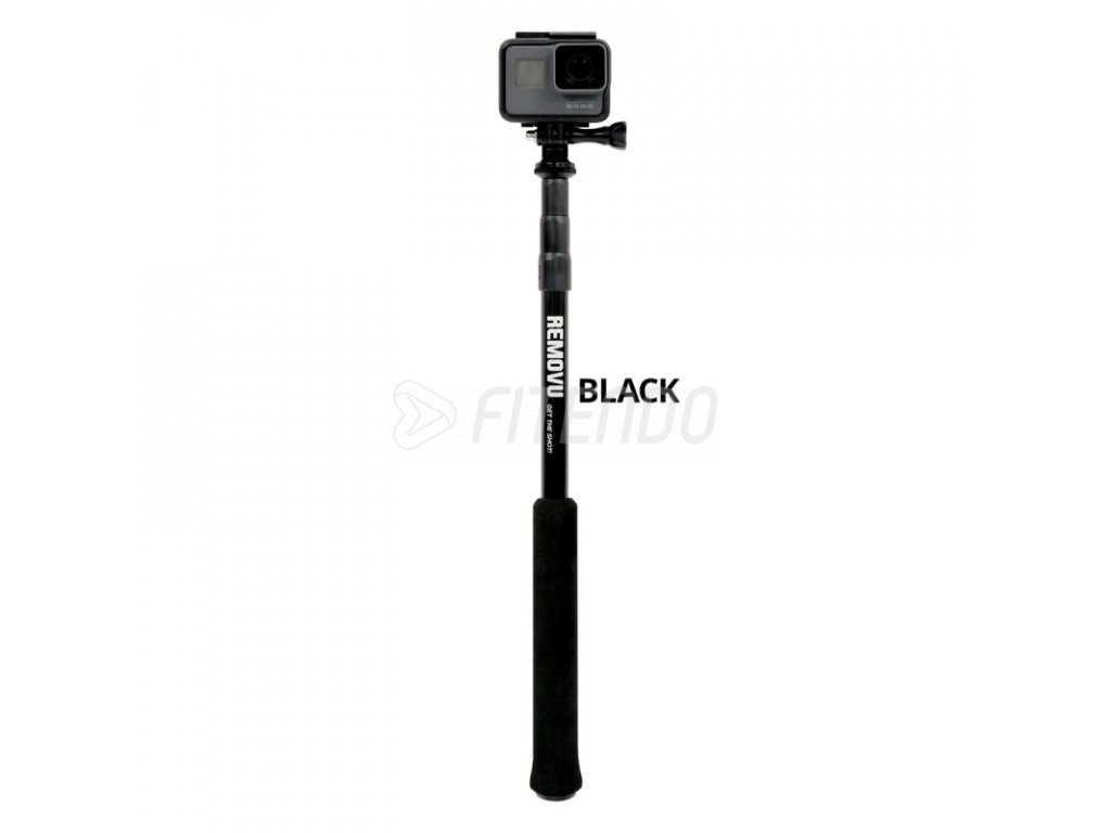 REMOVU Pole for GoPro Camera, 110 cm (P110-BK)
