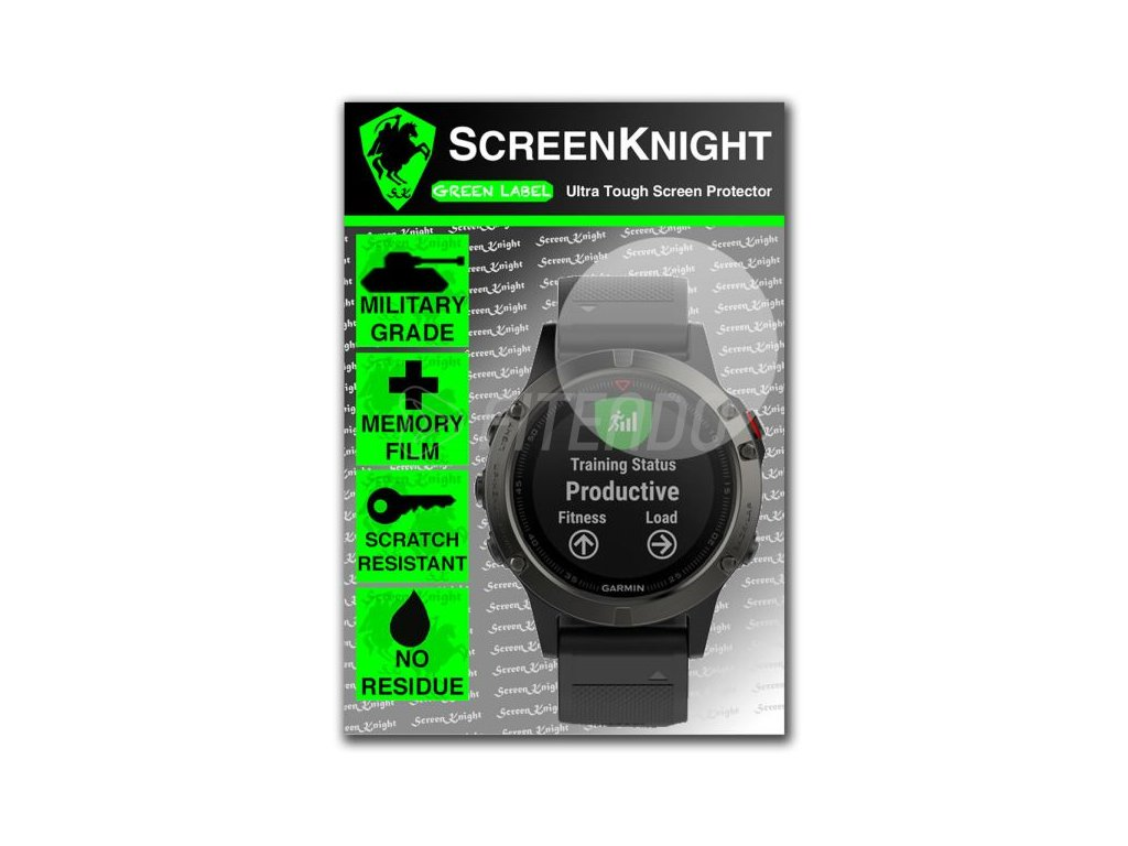 Garmin fénix 5 ochranná fólia na displej
