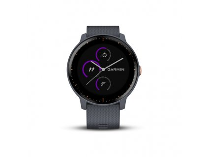 vivoactive 3 music granite blue rose gold 01