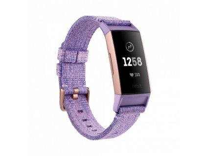 01 Fitbit Charge 3 Special Edition - Lavender Woven