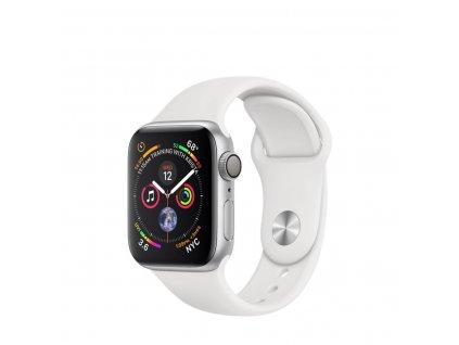 01 apple watch alu silver sport white