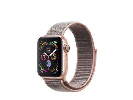 01 apple watch alu gold sport loop pink sand