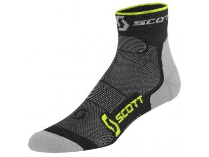 scott bezecke ponozky running pro black neon 01