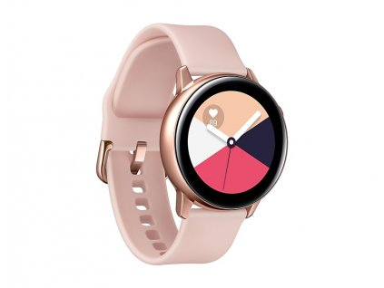 samsung galaxy watch active ruzovo zlata 01