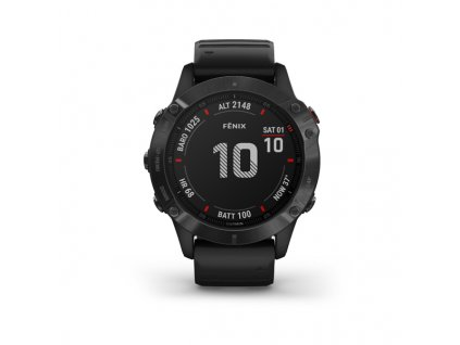 garmin fenix 6 pro black black band 01
