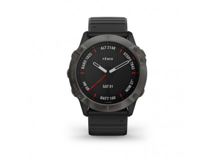 garmin fenix 6x pro black black band 01