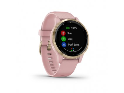 garmin vivoactive 4S dust rose light gold 01