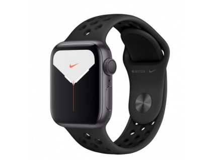 Apple Watch Nike Series 5 40mm Space Grey Aluminium Anthracite Black Nike Sport Band 01