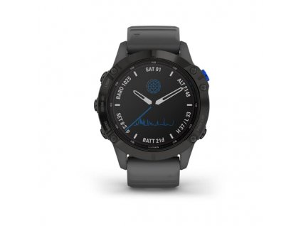 garmin fenix 6 pro solar black slate gray band 01