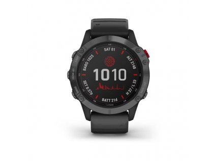 garmin fenix 6 pro solar slate gray black band 01