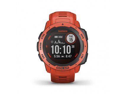 garmin instinct solar flame red 01