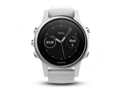 Garmin fénix 5S White, Carrara white band