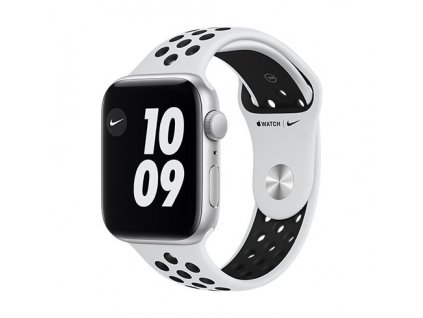 apple watch nike se gps 40 mm silver aluminium case with pure platinum black nike se sport band regular i107419