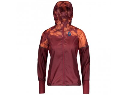 01 Scott Jacket Women Kinabalu Run merlot 270186