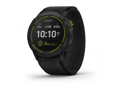 garmin enduro carbon gray dlc titanium black ultrafit nylon strap 01