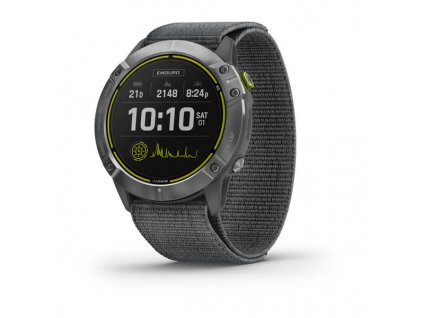 garmin enduro steel gray ultrafit nylon strap 01
