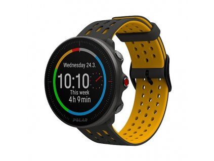 polar vantage m2 gray yellow