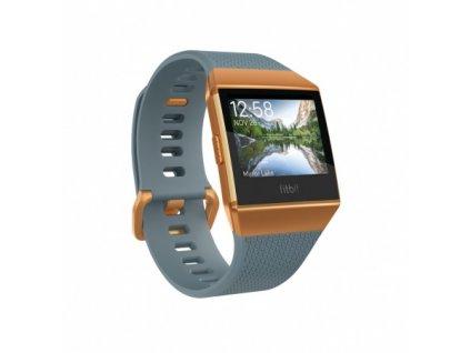 Fitbit Ionic - Slate Blue/Burnt Orange  + Ochranná fólia na displej v hodnote 6€ zadarmo!