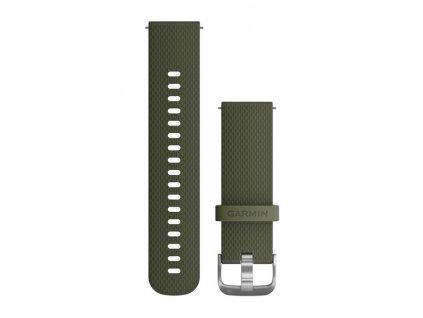 Garmin Vívoactive 3 remienok Moss, silikónový (20mm)