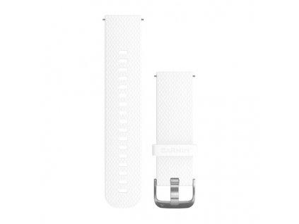 Garmin Vívoactive 3 remienok White, silikónový (20mm)