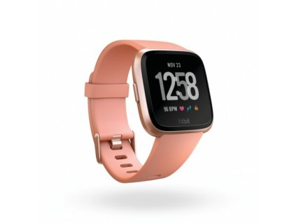Fitbit Versa - Peach / Rose Gold Aluminum  + Ochranná fólia na displej za 6€ zadarmo!