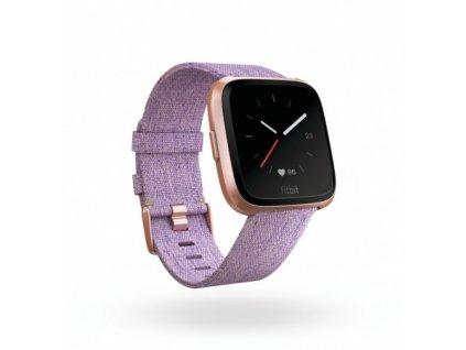 Fitbit Versa - Lavender Woven  + Ochranná fólia na displej za 6€ zadarmo!