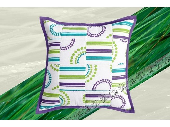 Fitex Bavlněný polštářek patchworkový ELIDA