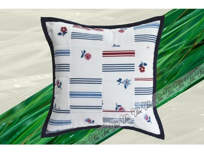 Fitex Bavlněný polštářek patchworkový VALENCIA